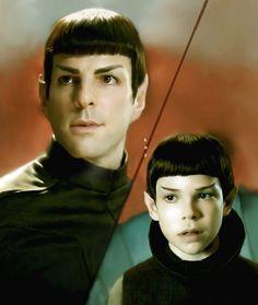 Da Man by karracaz on DeviantArt awwww Star Trek 2009, New Star Trek, Star Trek Beyond, Star Trek Tos, Stephen Hawking, Johnny Depp, Radios, Star Trek Reboot, Spock And Kirk