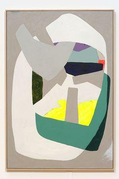 "Hayal Pozanti - An Island In Your Arms Acrylic on wood, 73""x47"""
