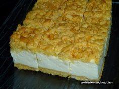 Sastojci Biskvit: 4 žumanjka 10 dag šećera 1 vanilin šećer 17 dag margarina 25 dag brašna 1 prašak za pecivo Nadjev: ...
