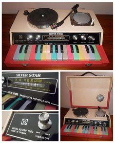 Silver Star ORP-1803 Organ Radio Phonograph (1976)