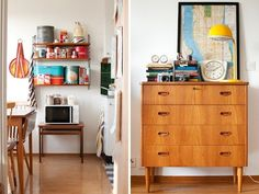 love 60's and 70's furniture. Such clean lines