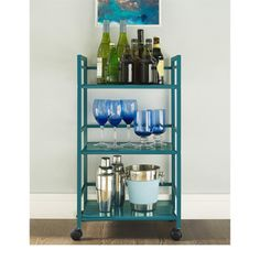 Shop for Altra Marshall 3-shelf Rolling Utility Cart. Free Shipping on orders over $45 at Overstock.com - Your Online Kitchen
