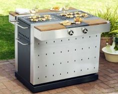 Fuego Grills are the coolest, slickest units out there. Great design