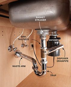 Double Kitchen Sink Plumbing With Dishwasher Plumbing Plumbing