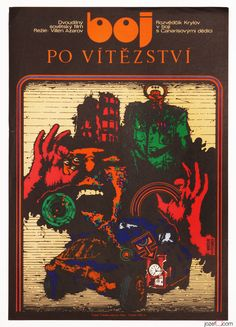 Movie poster - The Fight for Victory, #MiroslavPechánek, 1973 #MoviePoster #Poster #PosterShop
