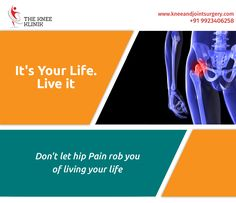 Get the best treatment for your hip pain at The Knee Klinik #Hipreplacementsurgeon  #Hipreplacementsurgery  #Jointsurgery #Orthopedicsurgery For more details visit us http://bit.ly/2cUHDYC  contact 9923406258