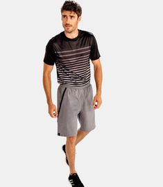 Alanic US sets the highest quality expectations and assures that any consumer receives customized and pleasing clothing collection of men's shorts. Visit the website and make your purchase. Mens Activewear, Heather Grey, Sporty, Website, Clothing, Leather, Collection, Black, Kleding