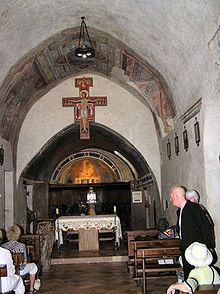 San Damiano Assisi St Francis of   Assisi repaired this church and St. Claire lived here