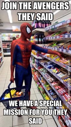 Me as an avenger tbh