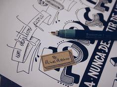 Quase pronto ✏️ . Letra do @projota.  #typespire #goodtype #thedailytype #thedesigntip #handlettering #lettering #typography #calligraphy #typeveryday #handmadefont #typoholic #creativity #letter #words #design #handmade #byalinealbino #projota #letrasdemúsica #focoforçaefé