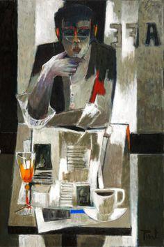 Les Dernières Nouvelles, Painting, Pierre Pivet