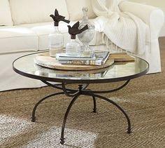 oval metal x lel coffee table - Google Search