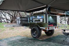The Award Winning Patriot Camper X1 Off Road Camper Trailer