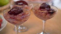 John whips up simply delicious Prosecco and sloe gin frappes, perfect for sipping on a warm summer's evening. Treat your guests, and try the recipe for yourself. Frappe Recipe, Delicious Desserts, Yummy Food, Coffee Break, Coffee Coffee, Morning Coffee, Artisan Bread, Prosecco, Kitchen Recipes