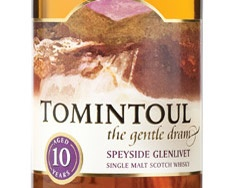 10 YO TOMINTOUL SPEYSIDE GLENLIVET (ANGUS DUNDEE)   VINTAGES 181974 | 700 mL bottle     Price $ 62.95     Made in: Scotland, United Kingdom   By: Angus Dundee Limited     Release Date: N/A     Spirits, Whisky/Whiskey, Single Malt Scotch  40.0% Alcohol/Vol.