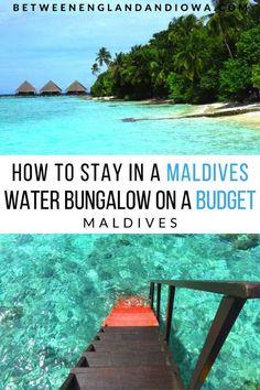 ♡PIN: kristalalbino Informations About Adaaran Club Rannalhi Resort: Maldives Overwater Bungalow On A Budget! Maldives Water Bungalow, Maldives Beach, Maldives Honeymoon, Visit Maldives, Maldives Resort, Maldives Travel, The Maldives, Maldives Vacation, Vacation Destinations