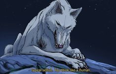 Goddess by Moro-No-Mori on DeviantArt Princes Mononoke, Mononoke Anime, Wolf Goddess, Studio Ghibli Movies, Mecha Anime, Old Anime, Anime Wolf, Anime Japan, Anime Animals