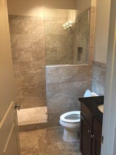 Life in the Barbie Dream House Bathroom Remodel Bathroom Design Luxury, Bathroom Layout, Modern Bathroom Design, Bathroom Ideas, Shower Ideas, Master Bathroom Shower, Small Bathroom With Shower, Shower Remodel, Bath Remodel