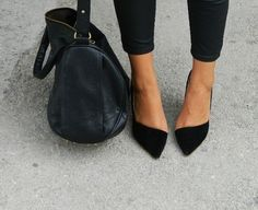 Pointy asymmetrical flats ☼ ☪ _Fashion_Killa_ ☪ ☼