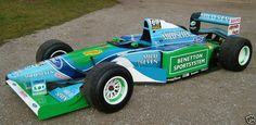 F1 Benetton B194. The last of the low side pod F1 cars