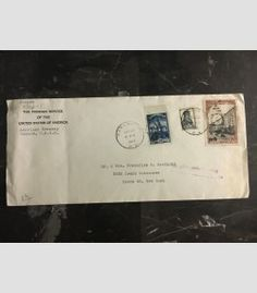 1948 Moscow Russia USSR US Embassy cover USA Diplomatic Mail to Bronx NY