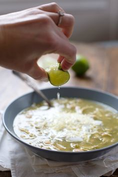 Jalapeño Lime Chicken Soup - so many bright, fresh flavors in this quick and easy recipe. | pinchofyum.com