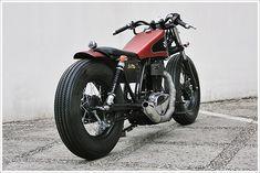 1988 Suzuki S40 Boulevard - StudioMotor - Pipeburn - Purveyors of Classic Motorcycles, Cafe Racers & Custom motorbikes