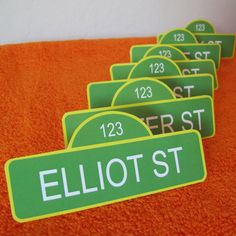 Place cards, gift tags, labels