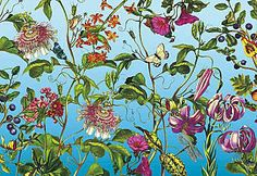 Vliestapete, Komar, »Jardin«, 368/248 cm