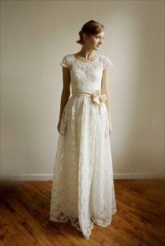Jag är iallafall yngre än...: Bröllopsklänningar