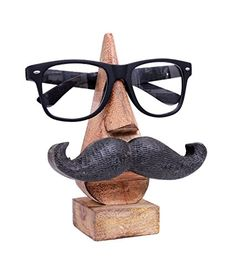 Witty Hand Carved Wooden Eyeglass Spectacle Holder with a... https://smile.amazon.com/dp/B00NHPCC5Q/ref=cm_sw_r_pi_dp_x_YhJgybT96MWV9