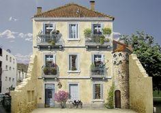 Dieser Künstler Gibt Anonymen Hausfassaden Ein Neues Leben Mit Monumentalen Wandgemälden