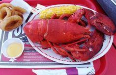 Maine lobster, yum!