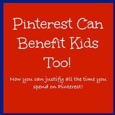 ThinkingIQ Blog: Pinterest Can Benefit Kids Too!--> love this from http://blog.thinkingiq.com