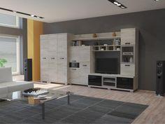 tv fal - Google keresés Living Room Interior, Interior Design Living Room, Living Rooms, Corner Desk, Loft, Bed, Furniture, Home Decor, Dublin