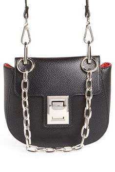 3fed9eb7be93 Steve Madden - Draped Chain Faux Leather Crossbody Bag is now 49-63% off