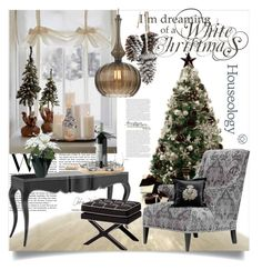 """Houseology/Christmas"" by clotheshawg ❤ liked on Polyvore featuring interior, interiors, interior design, home, home decor, interior decorating, Heathfield & Co., Andrew Martin, Timorous Beasties and Eichholtz"