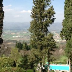 View from Villa Campestri, Mugello, Tuscany