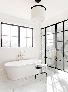 Just a stunning modern and gorgeous bathroom