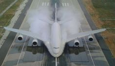 Airbus A 380 Testphase