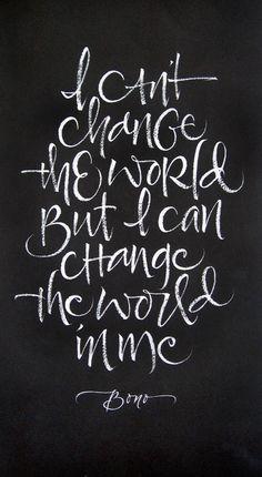 #Change The #World by Julie Wildman. #mindfulness