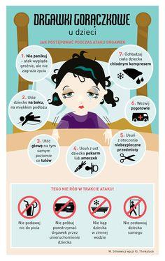 Drgawki gorączkowe u dzieci - co robić? Baby Boom, In Case Of Emergency, Baby Hacks, Vogue Kids, Pediatrics, Kids And Parenting, Psychology, Life Hacks, Pregnancy