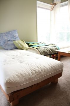 Diy Sectional Couch Guest Bed