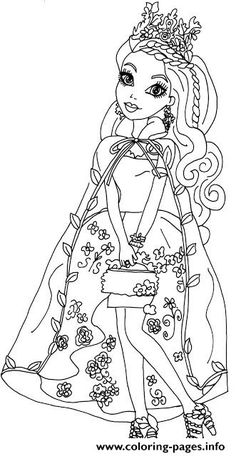 Ashlynn Ella Legacy Day Ever After High Coloring Pages Printable And Book To Print For Free Find More Online Kids Adults Of