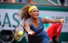 Serena Williams n'a eu besoin que de 1h02 pour se défaire de Caroline Garcia.