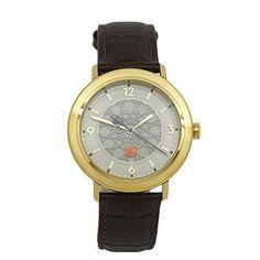 Bulova Men's Frank Lloyd Wright Leather Strap Watch, 97A117 #Bulova