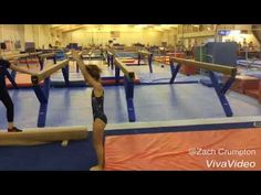Back handspring drills wow - YouTube
