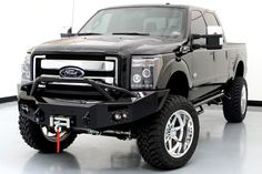 """2015 ford f-250 with 22"""" wheels with 6'' suspension lift.   2015 Ford F250 Crew Cab King Ranch NEW"""