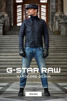 Hardcore Denim. Combining favorite styles to build an all denim look. Shop Now.