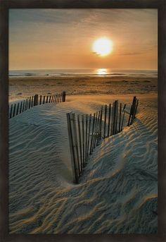 Sunrise on Hatteras by Steven Ainsworth
